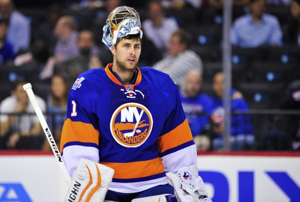 new product 53ac8 5d3a0 Thomas Greiss, New York Islanders Agree To Extension | Def Pen