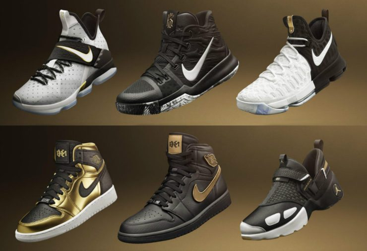 cheap for discount 80141 1f960 Nike and Jordan Brand Officially Unveil The 2017 Black History Month  Collection