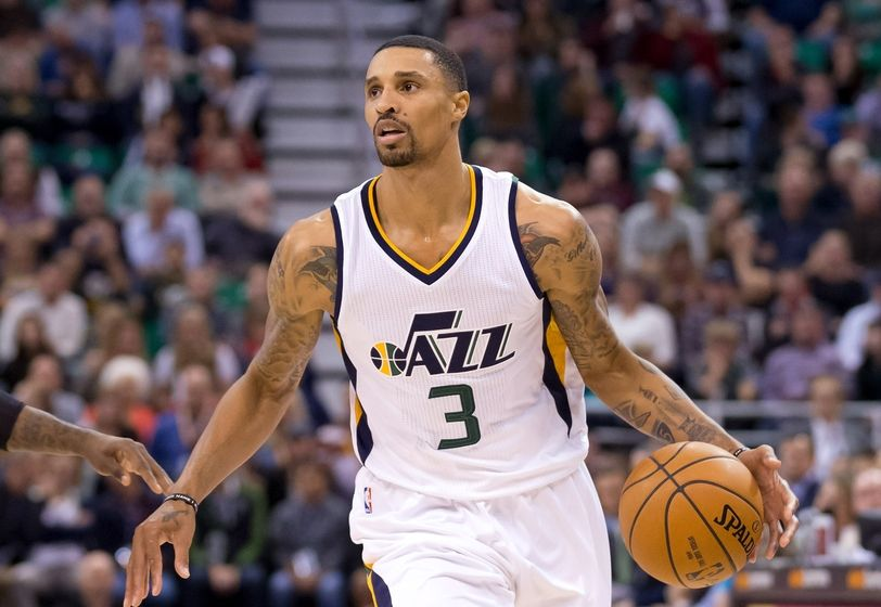 Jazz Unable to Reach Contract Extension with George Hill ...