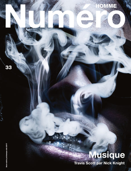 Travis Scott for Numéro Magazine 33 (Cover)