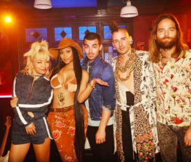 DNCE Kissing Strangers Nicki Minaj