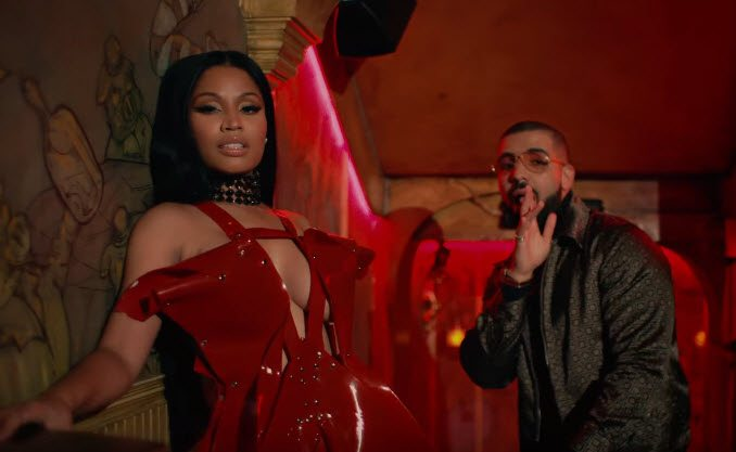 Nicki Minaj No Frauds Music Video Drake Lil Wayne