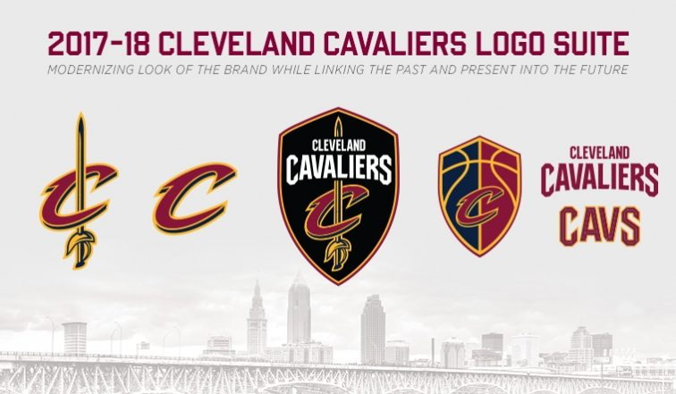 Cleveland Cavaliers Unveil New Logos For 2017-18 Season ...