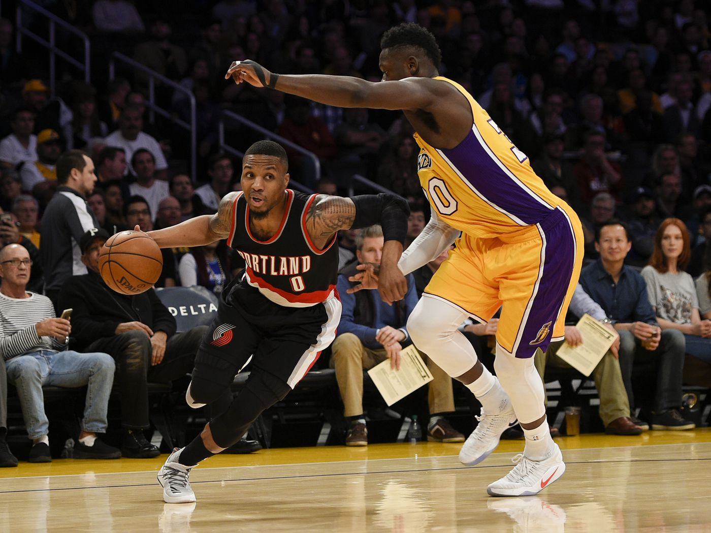 7a94cd30789 Damian Lillard Says He Would Join Jazz or Lakers if He Left Blazers ...