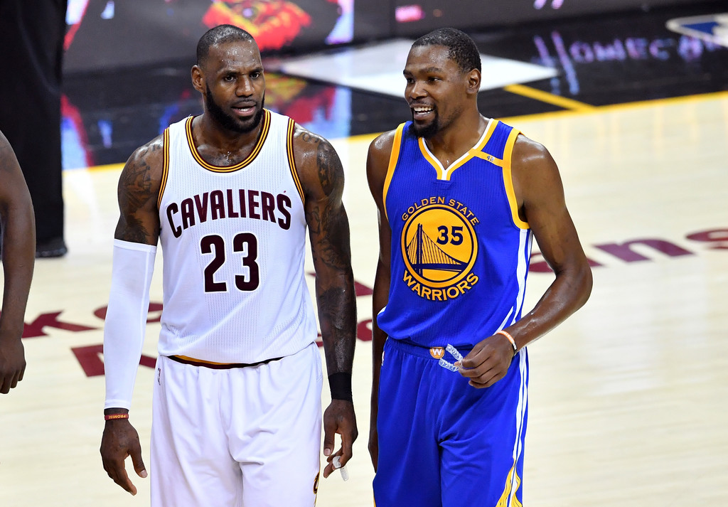 VIDEO: Kevin Durant, LeBron James Get Into Heated Argument ...