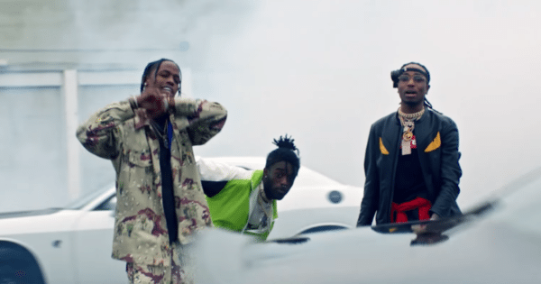 Travis Scott, Lil Uzi Vert and Quavo