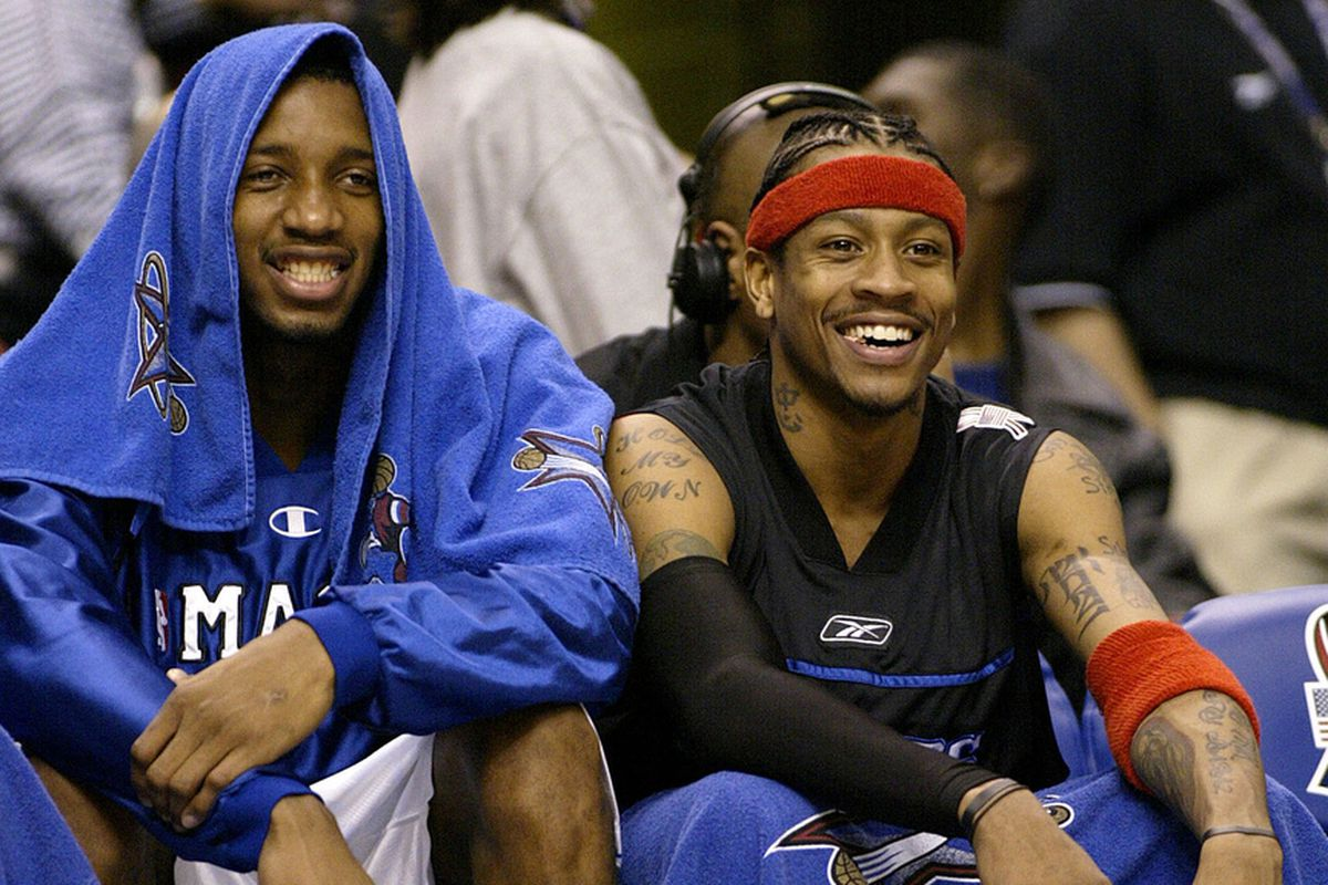Tracy McGrady Allen Iverson