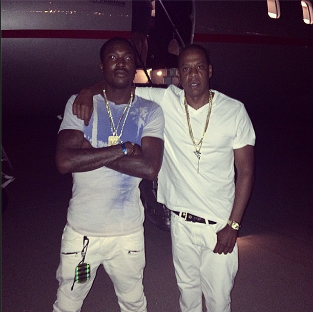 Jay-Z and Meek Mill