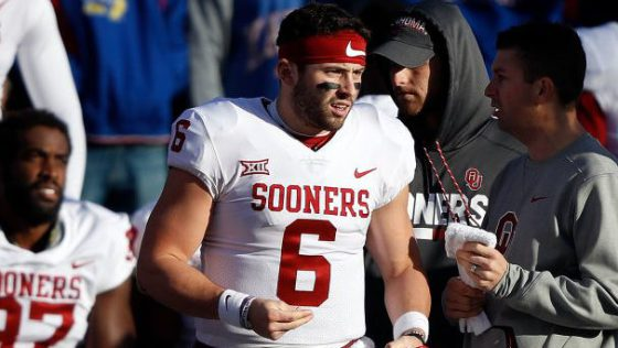 Oklahoma Sooners' Quarterback Baker Mayfield Wins the CFB